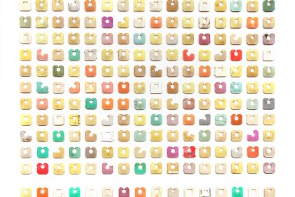 208 Produce Tags (Including those that have been affected by light, heat, submergence, tidal forces, fingers and storms). 2013.