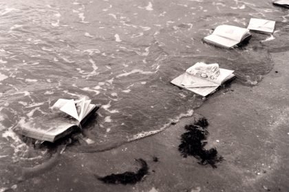 Beached Books. 2006, Westbrook, Margate, Kent