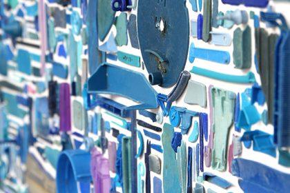 Dark (Combination Piece – Blue, Square, No1). 2012.