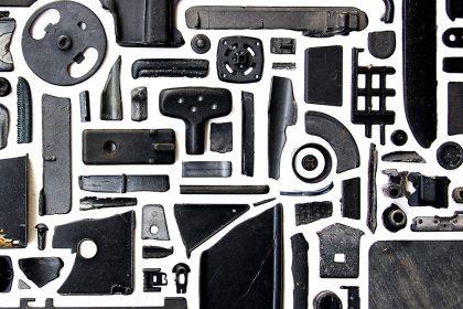 Deep (Combination Piece – Black, Square, No1). 2012.