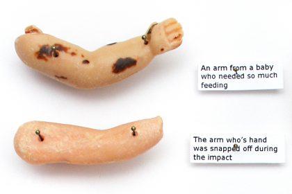 11 Limbs, (Including 5 hands & 5 feet). 2009.