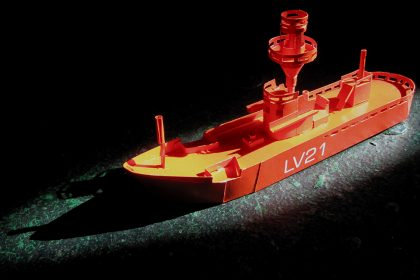 Paper Light Vessel. 2011.