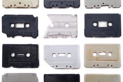Compact Audio Cassette Collection. 2015
