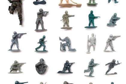 Military figure Collection. 2015