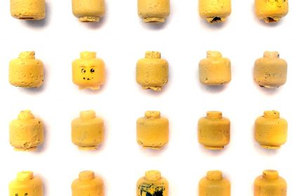 Lego Minifigure Head Collection. 2015