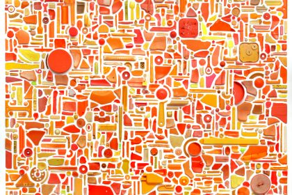 Visibility (Combination Piece – Orange, Square, No1). 2012- 2013