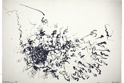 Acrylic Drawing. 1998.