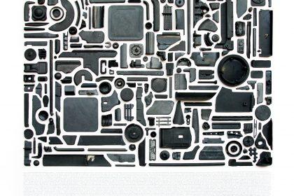 Combination Piece (Black No5). 2012.