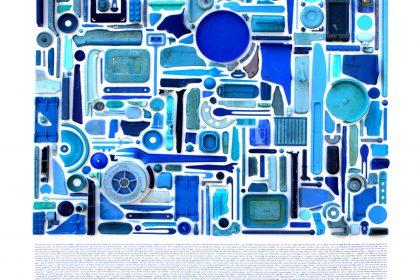 Combination Piece - Blue No4. 2011