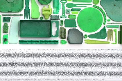 Combination Piece- (Green No1). 2010.