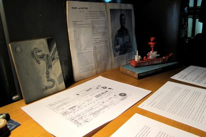The Secret history of Light Vessel 21. 2011. 'The Secret History of LV21', documents and former crew paraphernalia