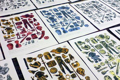 Marine Plastic Prints. 2008
