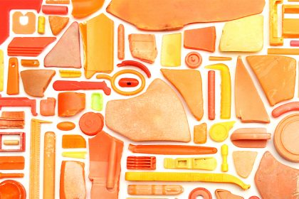 Combination Piece (Orange No2). 2009