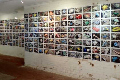 An Undesirable Archive, Photographic installation, Margate. UK. 2015