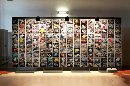 An Undesirable Archive, Photographic installation, Turin. Italy.  UK. 2015