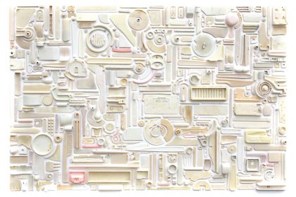 Combination Piece -Lrg Cream No1, (What floats and sinks). 2010.
