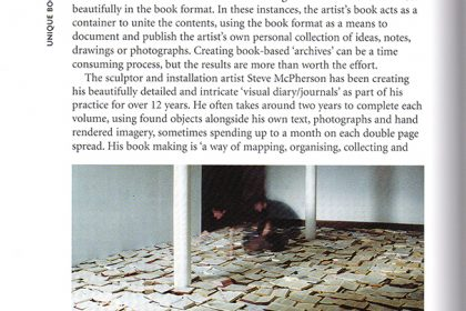 Creating Artists Books. UK. 2005