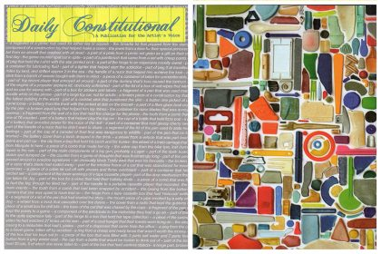 Daily Constitutional, A Publication for the Artist's Voice, USA, 2007