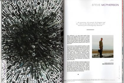 E-Squared, Art + Science Magazine. USA. 2017
