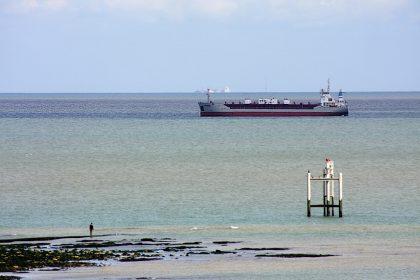 'Cembay. MMSI: 212542000'. in situ off the Kent coast. 2009.