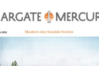 Margate Mercury. Uk. Autumn 2018