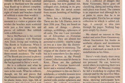 Shetland Times. UK. 2003