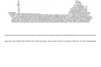 'Jonsen. MMSI: 235008243'. 2009.