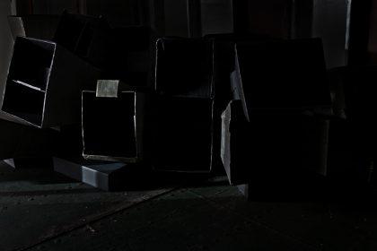Blanket Song installation onboard Light Vessel 21. Siren – Signal. 2011